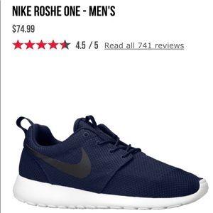 Nike Roshes size 9.