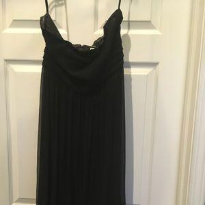 J Crew black dress