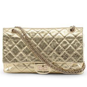 ✨Authentic CHANEL Gold Double Flap Bag