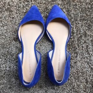 Re-Posh BR Blue Flats