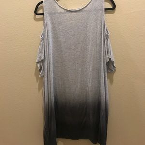 Just female dip dye ombré tunic