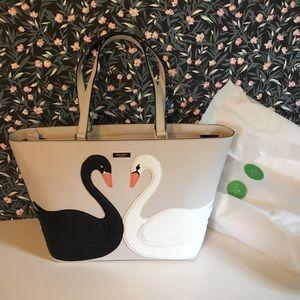 Kate Spade Swan Around Jules tote