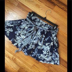 Lined skirt