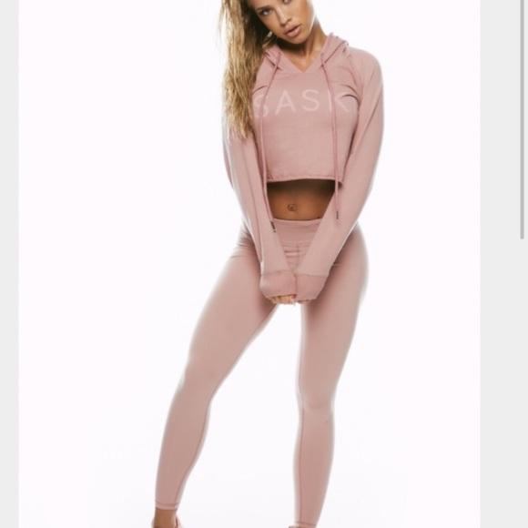 bbc0262e9a163 Saski Collection Dusty Pink Leggings. M 59c2c531c6c79576fa01f7c7