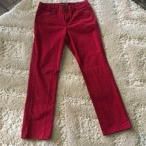 Red Bandolino Jeans