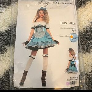 Rebel Alice In Wonderland Legs Avenue Costume
