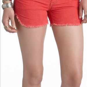 NWT Free People Corduroy Dolphin Hemmed Shorts