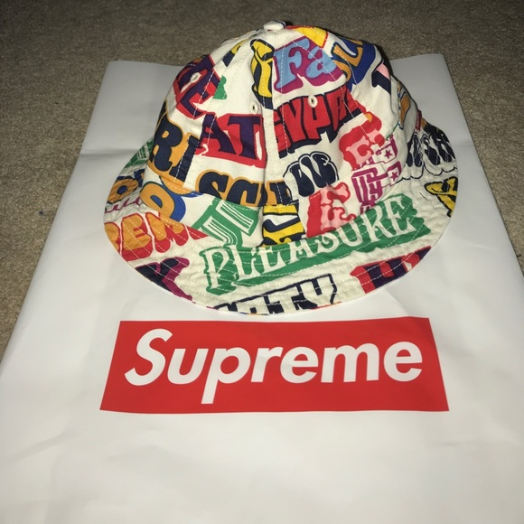 477eb2ca1ae supreme  hysteric glamour text bell hat