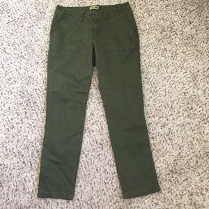 Old navy Forrest green straight pants