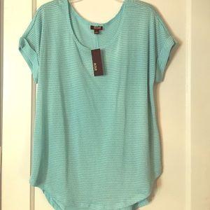 🆕A.n.a light blue tee shirt mesh