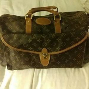 """Created Louie Vuitton Travel Bag 20"""" long"""