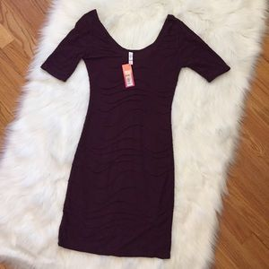 New Xhilaration Burgundy Dress XS