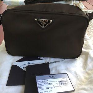 Prada vela handbag