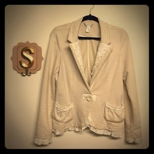 Comfy Chic Blazer Christopher & Banks size M