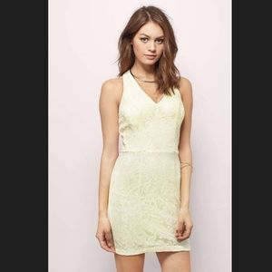 Sassy Lines Bodycon Dress