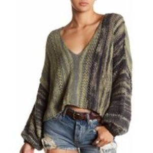 NWT Free People Amethyst Sweater