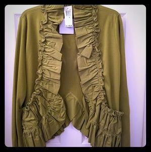 Sage long sleeve Dress Jacket