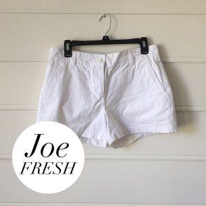 White Joe Fresh Shorts