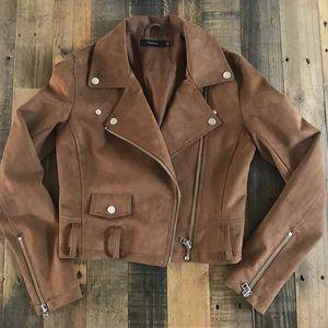 Tulala (Aritzia) faux suede jacket XXS