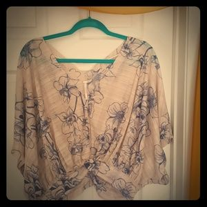 Free People winged top