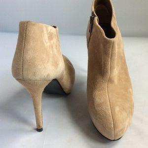 Zara Tan Suede Boots size 39 EUC