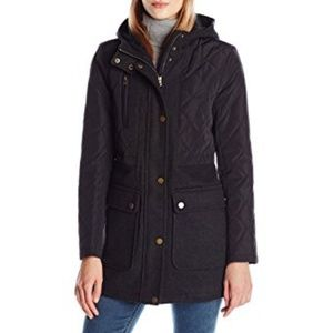 Lucky Brand Women's Mid-Length Quilted Jacket