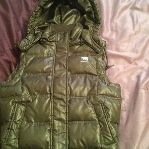 Women's size S Predator puffer vest