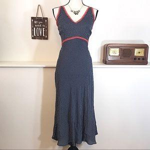Asos Polka Dot Sexy Lace Up Back Dress