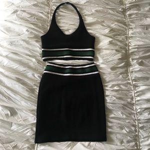 Topshop Skirt & Top Set