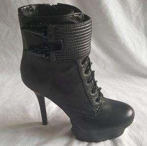 """Sam Edelman """"Vixen"""" Platform High Heel Booties"""