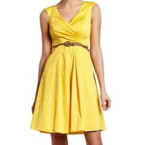 New yellow Jessica Simpson dress small.
