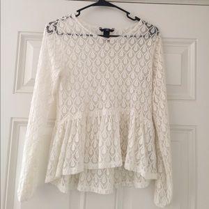 Long-Sleeve White Shirt