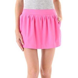DVF Omarosa bright pink mini skirt