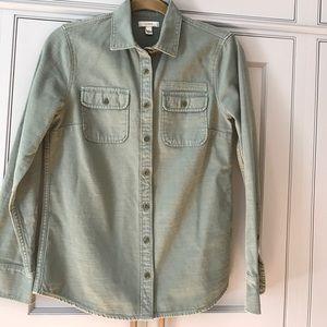 J.Crew Utility Boyfriend Shirt/Jacket