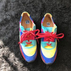 Zara Basic Color Block Shoes