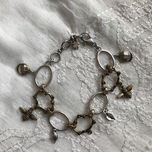 Lucky Brand bee charm bracelet
