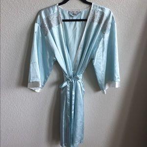 Elegant Silky Robe