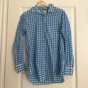 J. Crew Factory Gingham Button-down