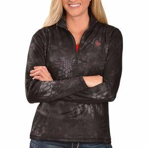Ariat Black Kryptek 1/4 Zip Pullover