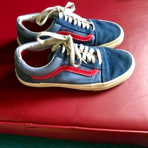 Vans Old Skool Classics Red & Blue