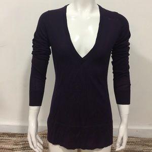 Banana Republic sweater size S purple cashmere