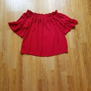 Tops - Off the shoulder shirt size small NWOT