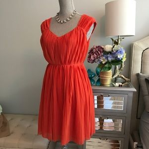 H&M red dress size US34 (4)