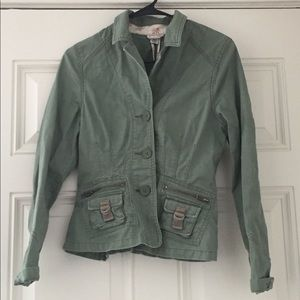 Light Army Green Jacket