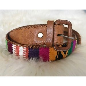 Accessories - Guatemalan Embroidered Belt