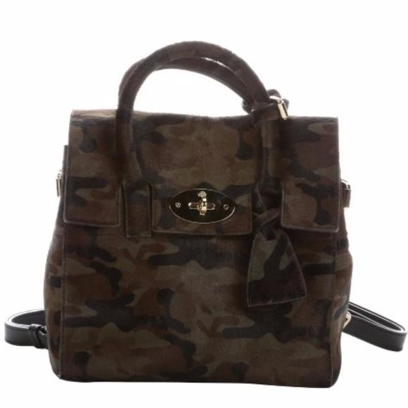 41446a79eb2 Mulberry Bags | Cara Delevingne Mini Camo Back Pack | Poshmark