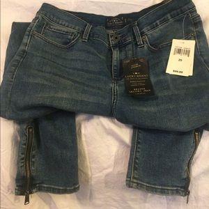 🍀 Lucky Brand brook legging jean mid rise