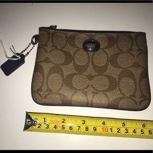 Coach Signature Coin purse / Wristlet