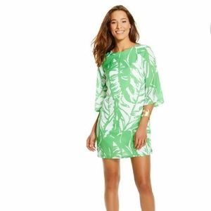 Lilly Pulitzer target boom boom leaf dress  S