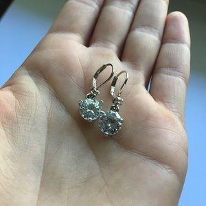 Kate Spade Drop Solitaire Earrings